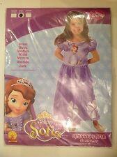 New Disney Sofia Dressing Up Costume Classic Sofia Costume Fancy Dress Age 3-4