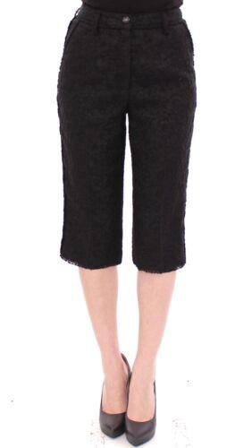 Neri It Motivo Lana Gabbana 40 Nuovo Dolce 6 Shorts Us Pantaloni Vergine amp; xqxzaI