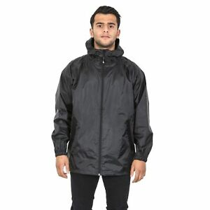 Trespass-Cahone-Mens-Reflective-Waterproof-Jacket-Lightweight-Windproof-Raincoat