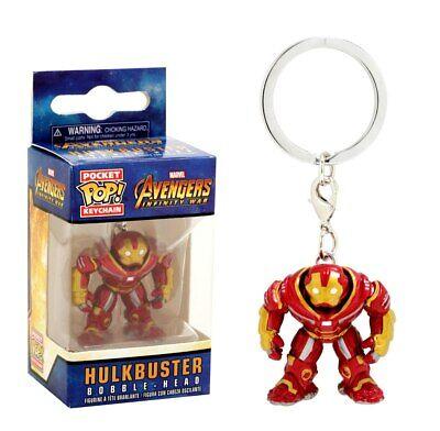 Funko Pocket Pop Groot Hulkbuster Thanos Rocked Vinyl Figure Keyring Keychain