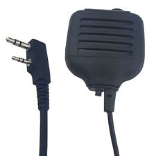 2 PIN Handheld PTT Speaker Mic FOR KENWOOD Radio Walkie Talkie MICROPHONE TK3207