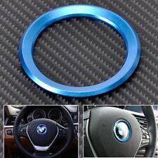BMW Ring in blu per Volante Emblema Cromato BMW E46 E52 E53 E60 F01 F30 F20 F10