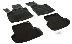 3d exclusive tapis de sol en caoutchouc pour audi a3 2003 2012 4pcs ebay. Black Bedroom Furniture Sets. Home Design Ideas