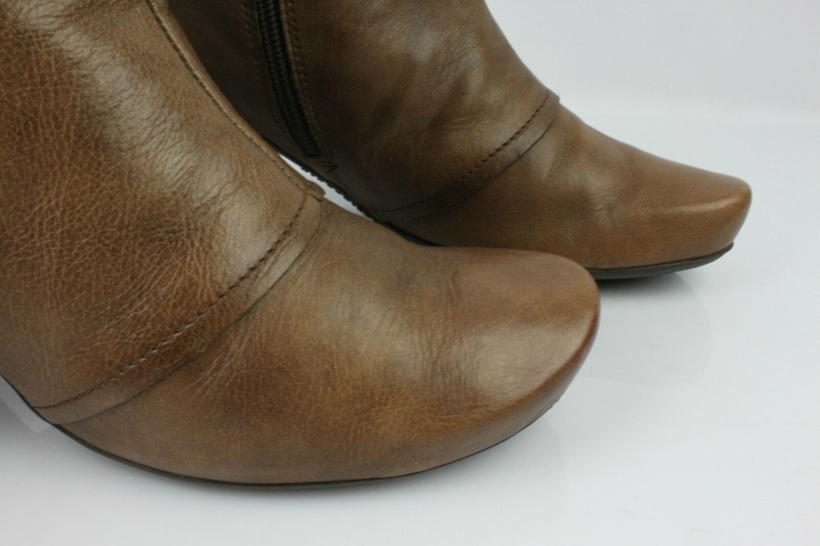 Boots HISPANITAS HISPANITAS HISPANITAS Brown Leather Clear T 37 VERY GOOD CONDITION 7657a4