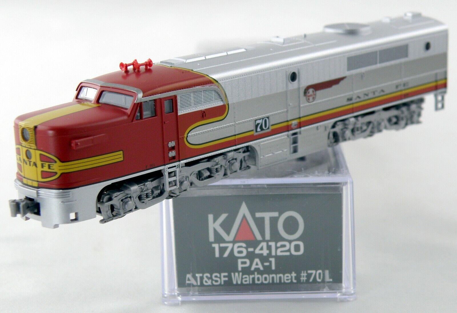 Escala N Locomotora Alco PA-1 - AT&SF  penacho  L - Kato