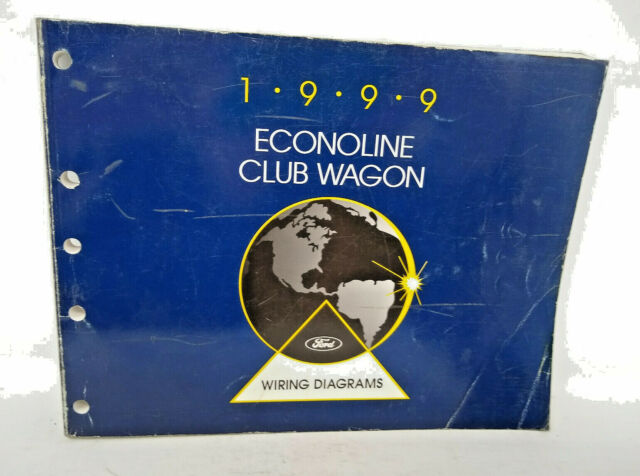 1999 Ford Econoline Club Wagon Service Shop Repair Manual  U0026 Wiring Diagrams Set