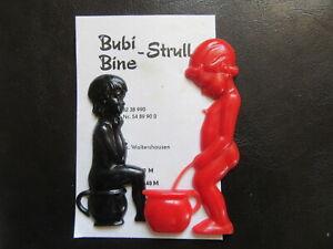 Spielzeug Qualifiziert Türschild-kloschild-wc-toilette-bubi&bine Strull-unbenutzt-ovp-orig.ddr Design.1 Außen- & Türdekoration