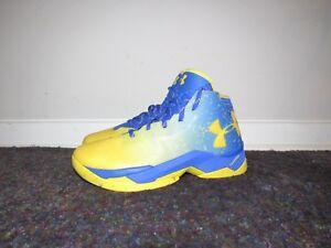 a0514da222eb UA Curry 2.5 Basketball Shoes Dub Nation Lights Team Royal 1274425 ...