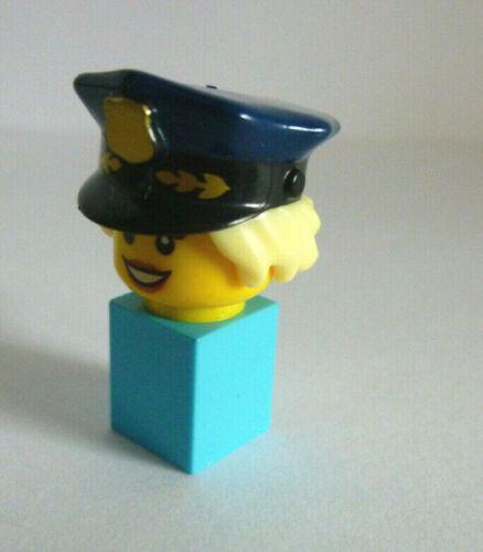 bonnet pour Minifiguren policière NEUF Fille, Femme 1 x LEGO ® 28430 cheveux