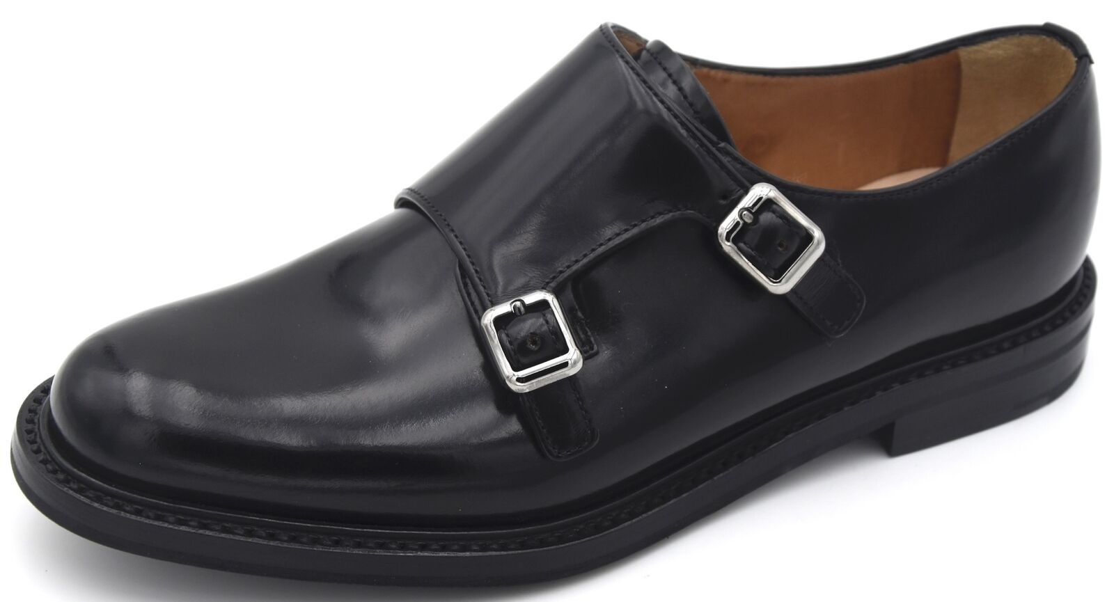 CHURCH'S WOMAN DREES SHOES BUSINESS DERBY CLASSIC LEATHER CODE DO0005 LORA R