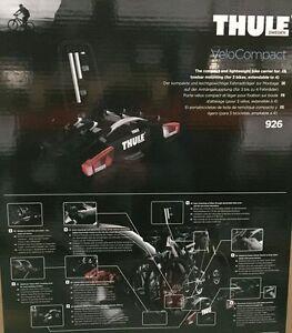 thule velocompact 926 hecktr ger fahrradtr ger f r 3 4. Black Bedroom Furniture Sets. Home Design Ideas