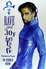 Prince **SUPER RARE** Rave Un2 the Joy Fantastic Promotional Poster 1999 Promo