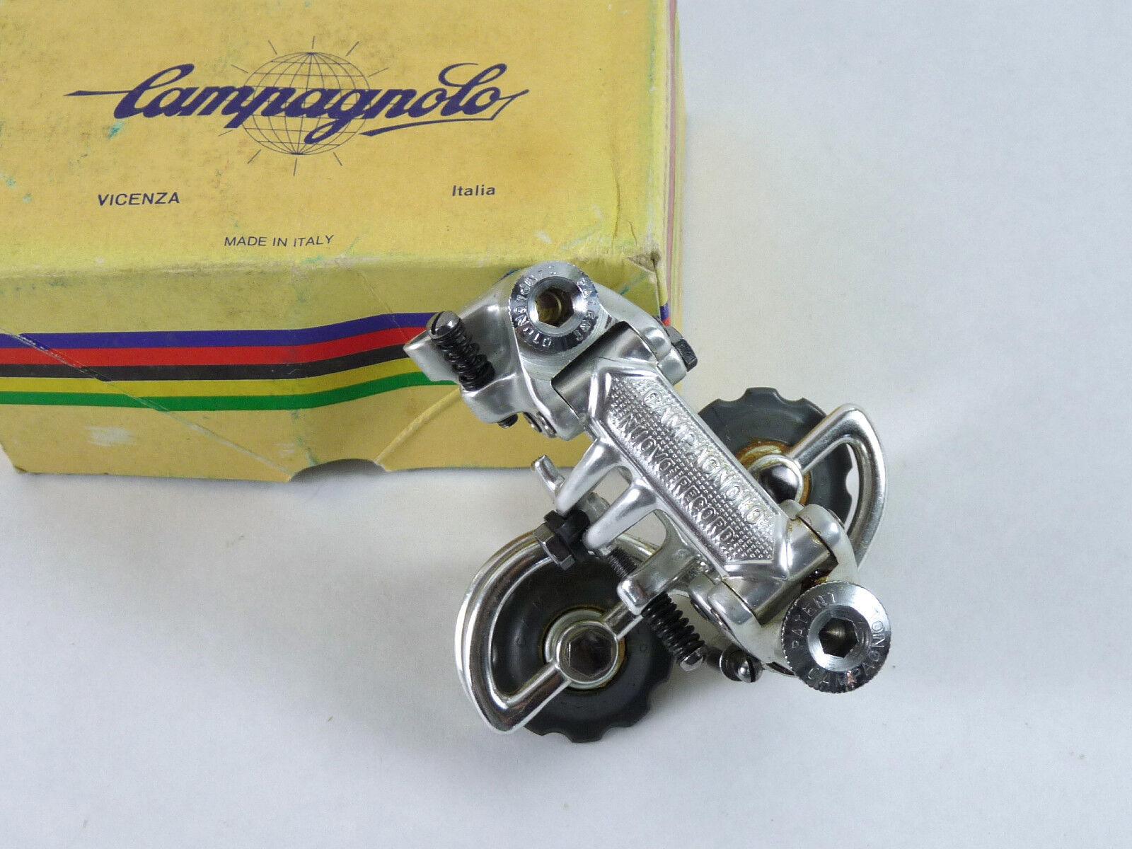 Campagnolo Derailleur 1982 Nuovo Record Rear Vintage Road Racing Bicycle Nos