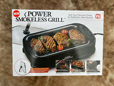 Power Indoor Electric Smokeless Grill As Seen on TV