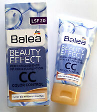 Balea Beauty Effect CC Cream 8-in-1 Color & Control Cream Foundation 50ml