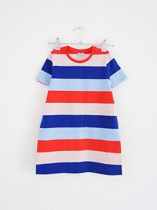 Hof115 Cos Kinder Kleid T Shirt Gestreift Kids Striped Jersey Dress 98 104 Ebay