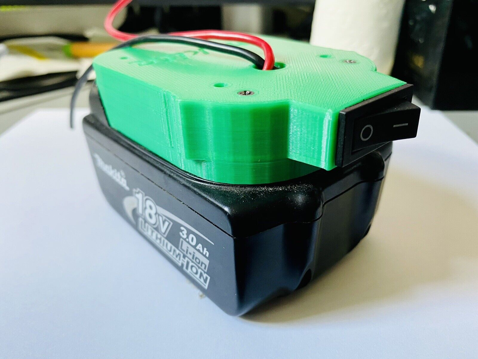 DIY Makita18v Battery DIY Project Adapter/Base WITH Switch Up To 20A *Mel STOCK!