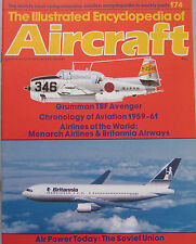 Encyclopedia of Aircraft Issue 174 Grumman TBF Avenger cutaway drawing