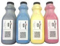 4 Color Toner Refill Kit Set (glossy) For Xante Ilumina 502 + 4 Reset Chips