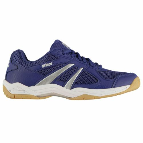 Prince Mens Turbo Pro Tennis Squash Shoes Lace Up Trainers Mesh Upper