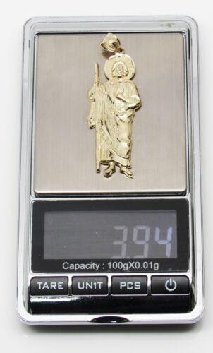 "10k Stamped Yellow Gold Shepherd Pendant 3.94 Grams 2.0/"" L"