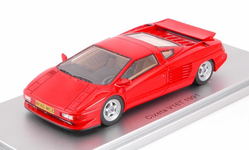 Cizeta V16t 6,4 16cil 64v 1991 Red 1 43 Model KESS MODEL