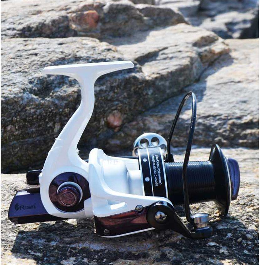 Risn Beach Surf Sea 15+1BB spinning reel heavy duty Carp Pike Pike Carp Fishing Reel 4.1:1 122c13