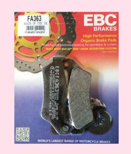 EBC FA363 Rear Brake Pads  BMW R R1150  R1150RS           2001 to 2004