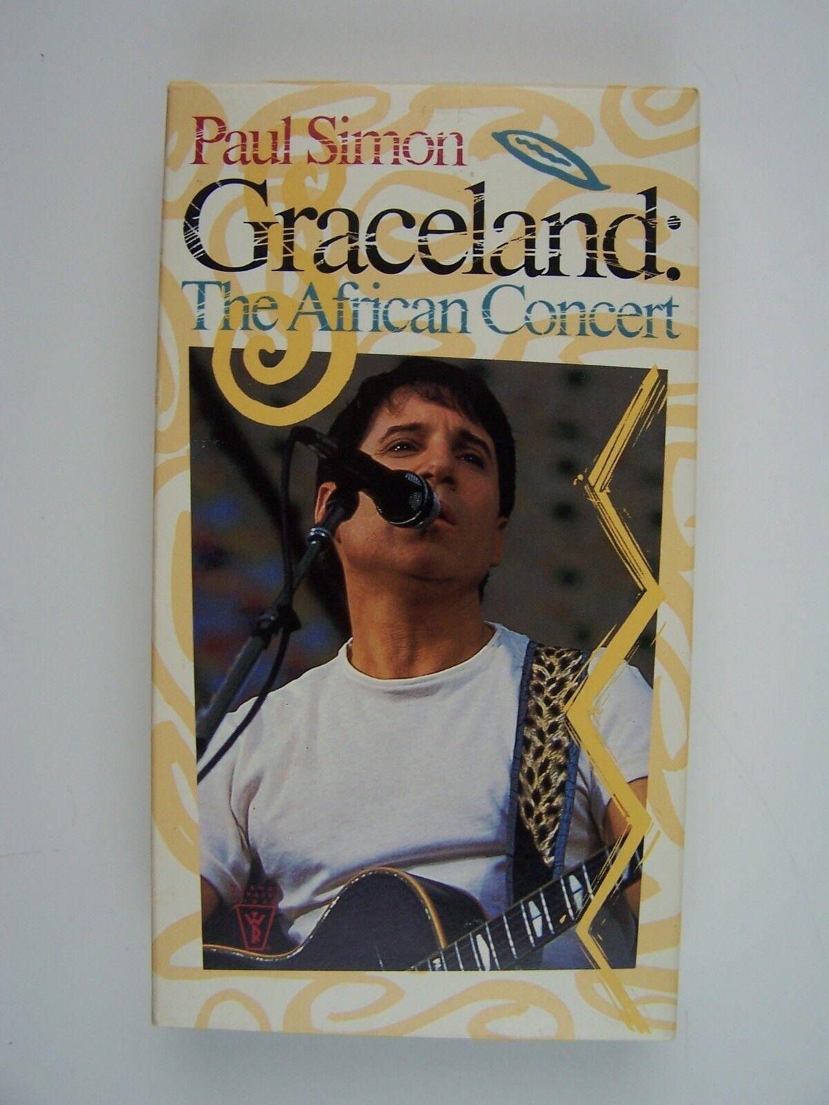 Paul Simon - Graceland - The African Concert (VHS, 1987