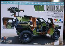 1987 Panhard VBL Milan Anti Tank Carrier French Army, 1:35, Tiger Model 4618