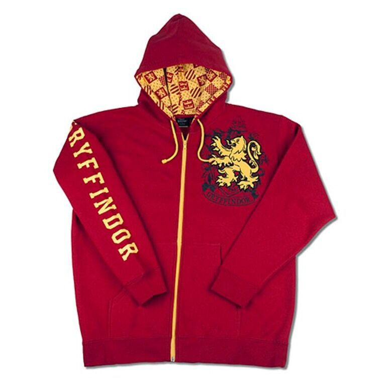 Wizarding World Of Harry Potter Gryffindor Hoodie Jacket S M L XL XXL