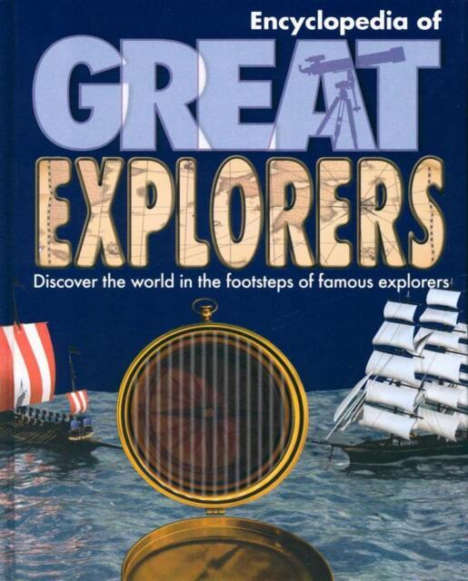 BRAND NEW Children's Great Explorers Encyclopedia (Hardback, 2010)