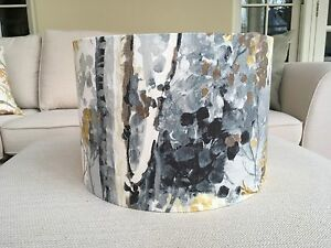 Handmade lampshade prestigious silver birch tree charcoal grey image is loading handmade lampshade prestigious silver birch tree charcoal grey mozeypictures Gallery