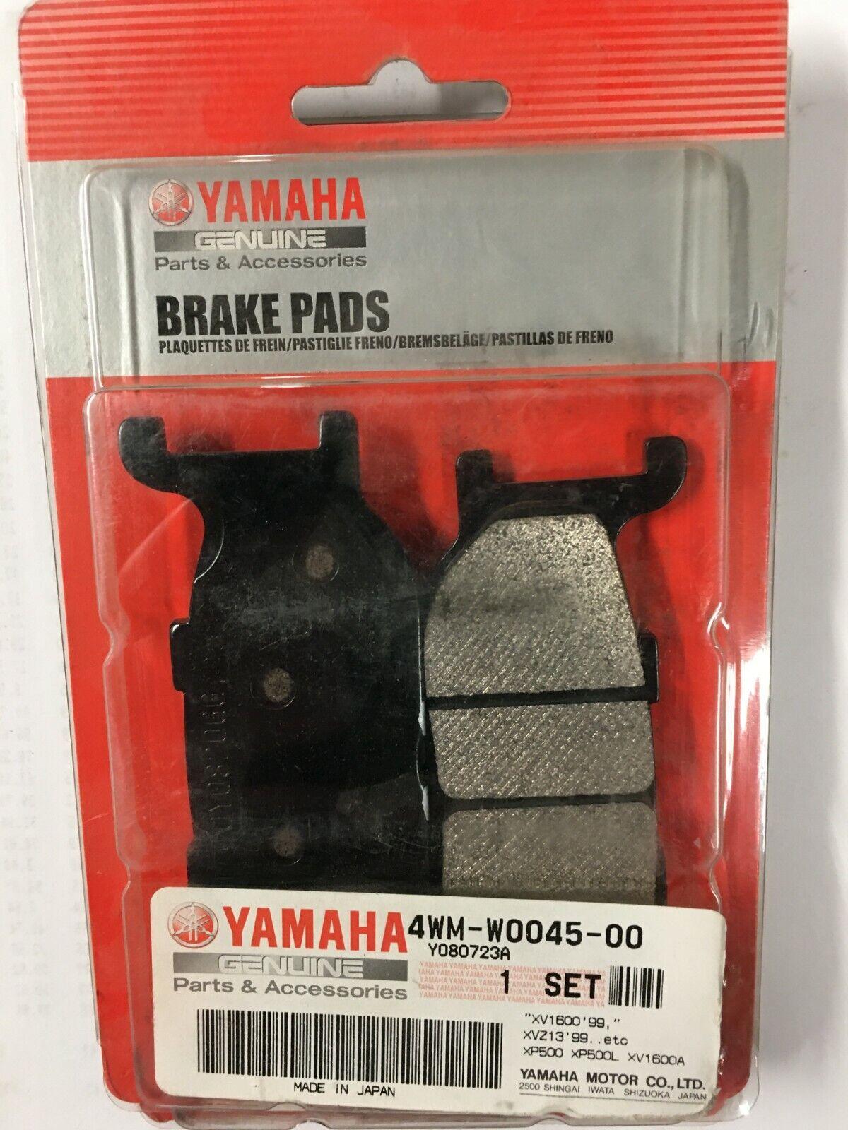 Genuine Yamaha Brake pad kit 4WM-W0045-00-00 Road Star V-star