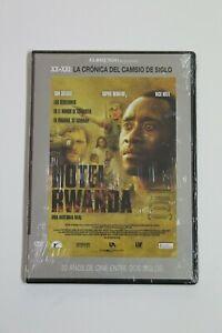 HOTEL RWANDA  Dvd Castellano e Ingles,  NUEVO EN BLISTER.