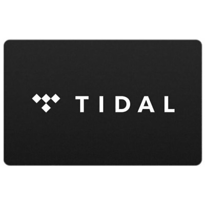 $20 TIDAL Gift Card - Fast Email delivery