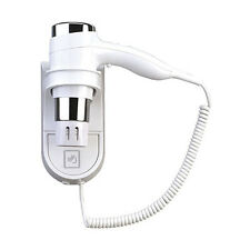 WALL MOUNTED HOLSTER HAIR DRYER HIGH POWER 1600W HOTELS GYM CHANGING ROOMS SPA'S