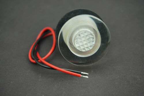 33mm Marine Boat RV Waterproof 12V LED Courtesy Light for Boats//Stair// Livewells