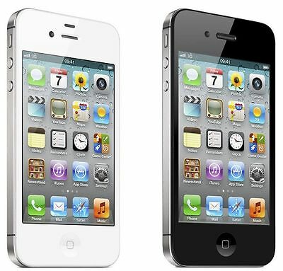 Apple iPhone 4 8GB - Black or White (Virgin Mobile) Smartphone