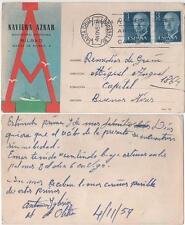 Tarjeta Postal. Bilbao. (Vizcaya). NAVIERA AZNAR. SOCIEDAD ANONIMA.