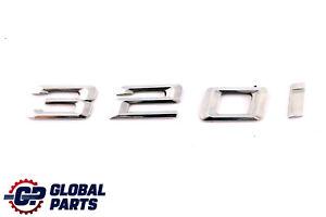BMW-3-Serie-E91-E91N-Arriere-Coffre-Couvercle-De-Coffre-adhere-320i-Embleme-De-Lettrage