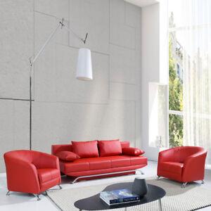 elegante sofagarnitur olaf 3 1 1 couchgarnitur polstergarnitur modern stil ebay