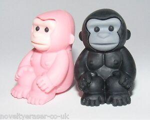 IWAKO Japanese Animal Puzzle Eraser Rubber- IWAKO Gorilla Erasers Party Bag Gift