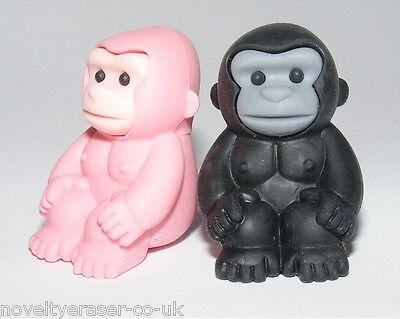 IWAKO Japanese Animal Puzzle Eraser Rubber IWAKO Gorilla Erasers Party Bag Gift