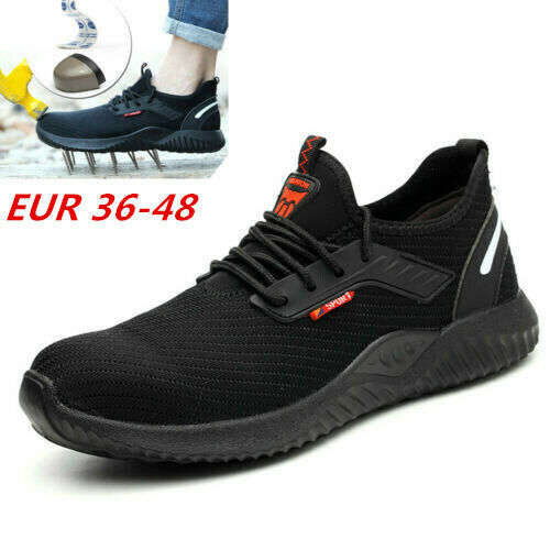 HOT RYDER STEEL TOE CAP SAFETY BOOTS TRAINERS PUNCTURE-PROOF SHOES WORK SNEAKERS