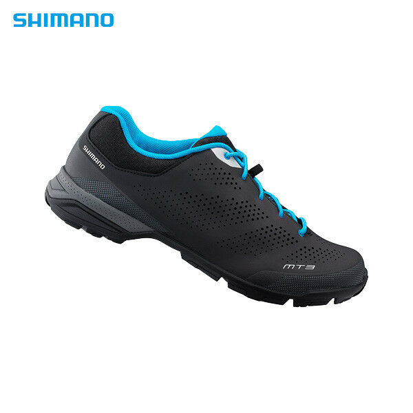 Nuevos Zapatos de Ciclismo Bicicleta Montañera Shimano SH-MT3, EU37-45, Negro