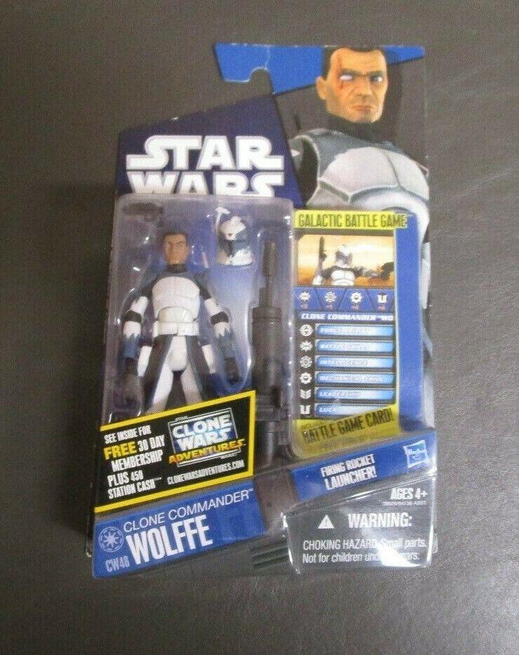 Clone Commander Wolffe CW48 STAR WARS Clone Wars TCW MOC  2