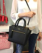 KATE SPADE CHESTER STREET SMALL ALLYN LEATHER BAG CROSSBODY BLACK