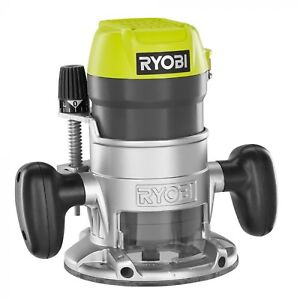 Ryobi Fixed Base Router Corded Electric Woodworking Power Tool 8 5