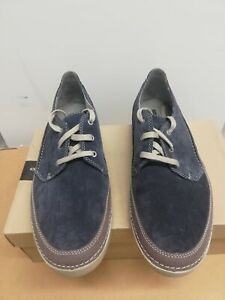 Gosler Edge Sneaker, Blue Suede, Size